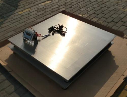 60吨电子地磅使用