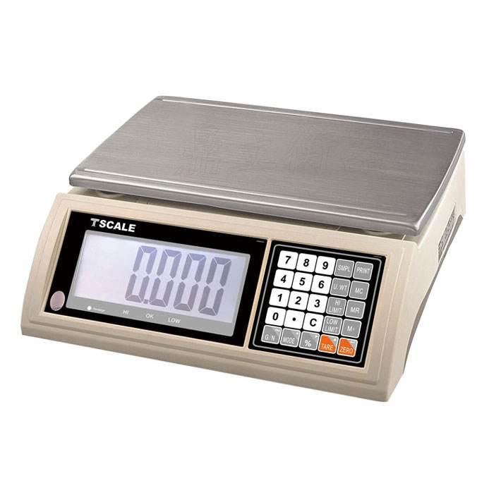 30公斤电子桌秤乱码