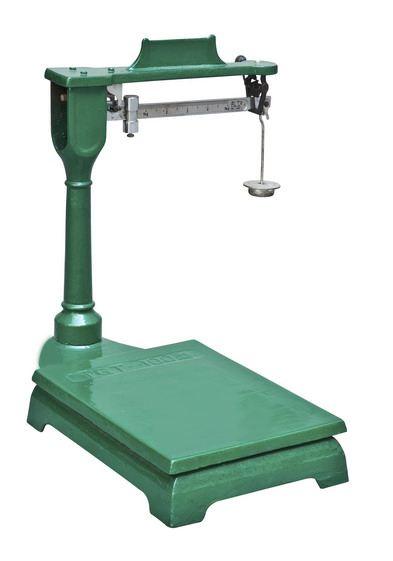 机械台秤校准方法