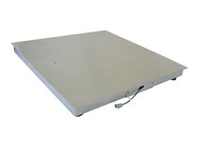 全不锈钢单层电子地磅