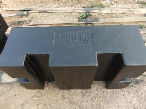 1000kg砝码效验场合,有检定证书吗?